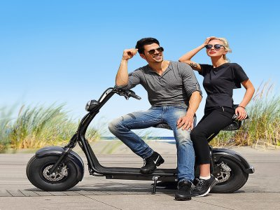 Alquiler scooter eléctrico biplaza Gran Canaria 3h
