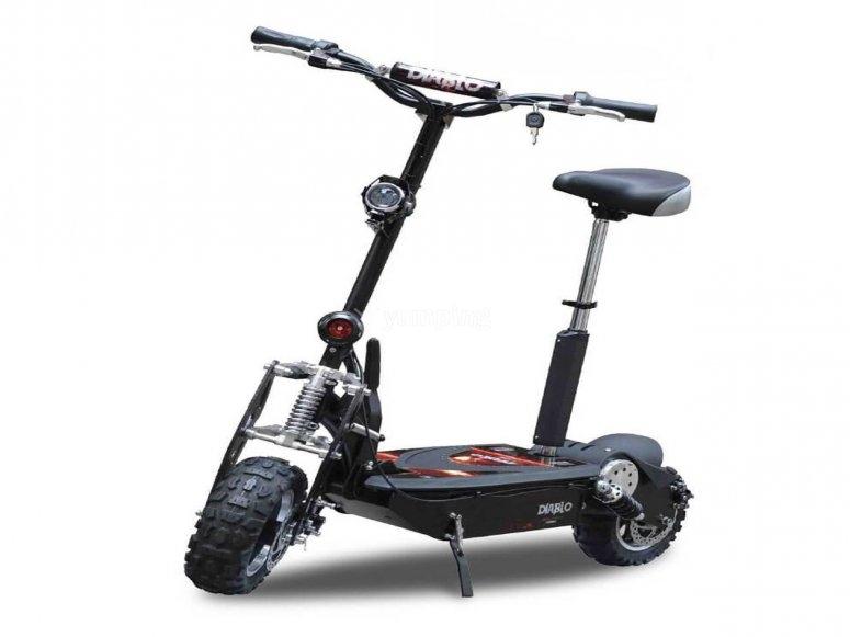 电动踏板摩托车的朋友
