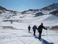 Travesías con raquetas por el Pirineo aragonés