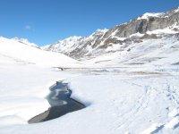 Verás preciosos paisajes de alta montaña