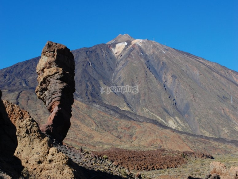Teide Volcano in Tenerife to visit in the camp