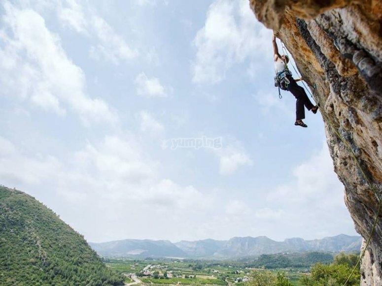 Un gran escalador