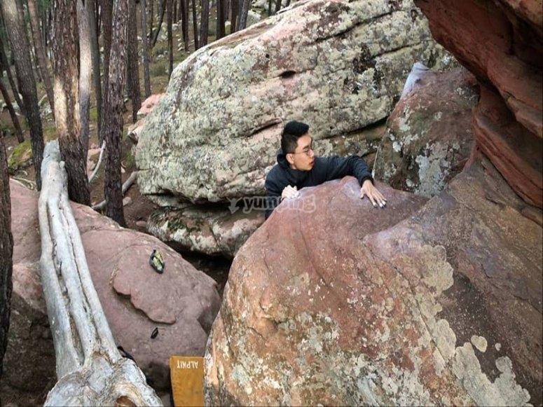 Primeros contactos con las rocas