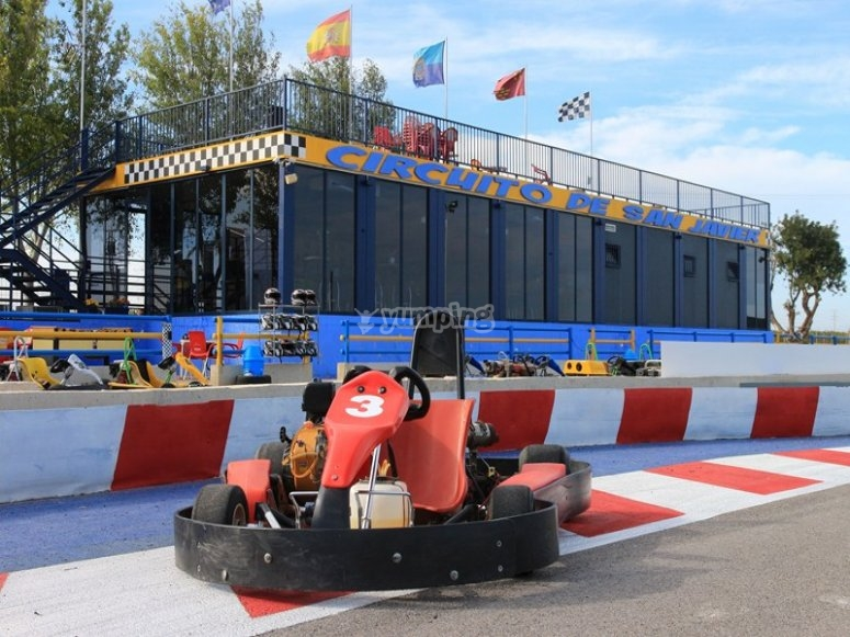 Available Karts to drive