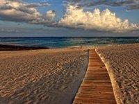 camino de playa