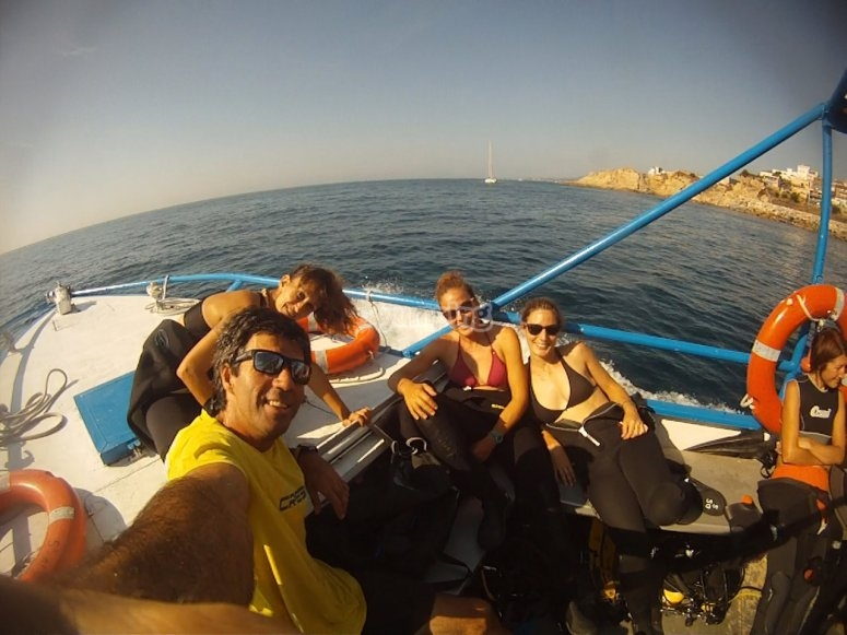 Open sea immersions