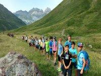 Excursion por la montana