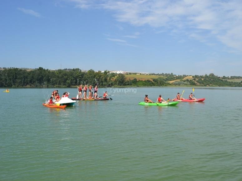 Actividades deportivas en el agua