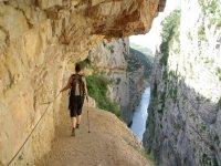 Paseando por los abruptos paisajes del Montsec