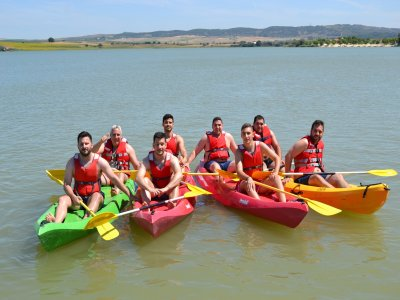 Aquatic multi-adventure Arcos de la Frontera 4 h