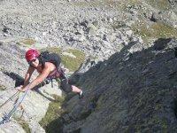 Varias modalidades de escalada