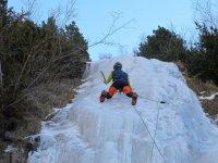 Escalamos también en hielo