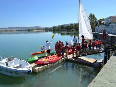 Actividades de agua para colegios Cádiz 2h