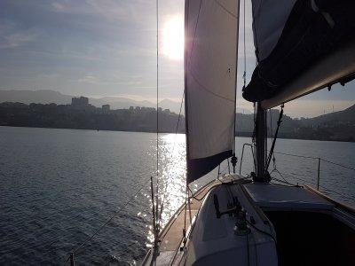 2h Sailing boat baptism in Bilbao