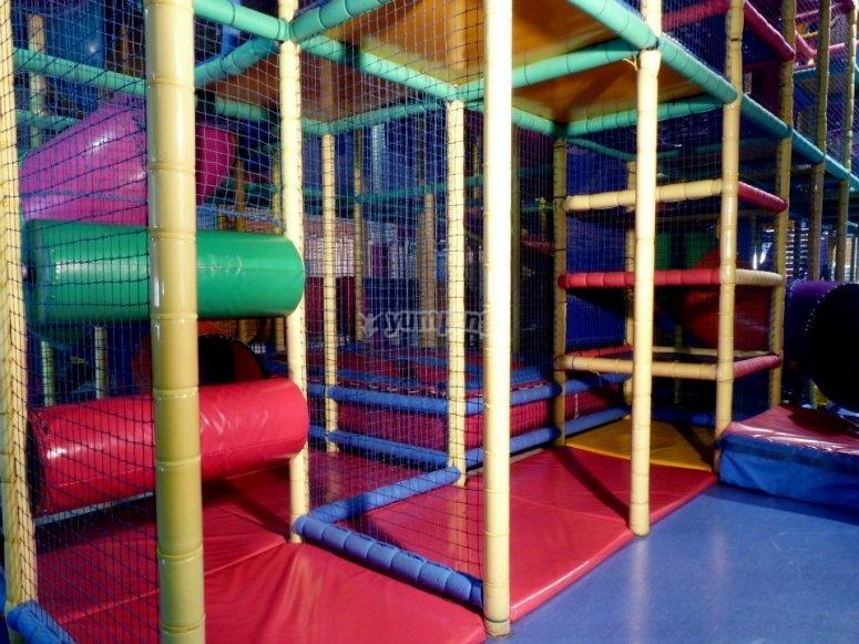 El parque infantil te espera