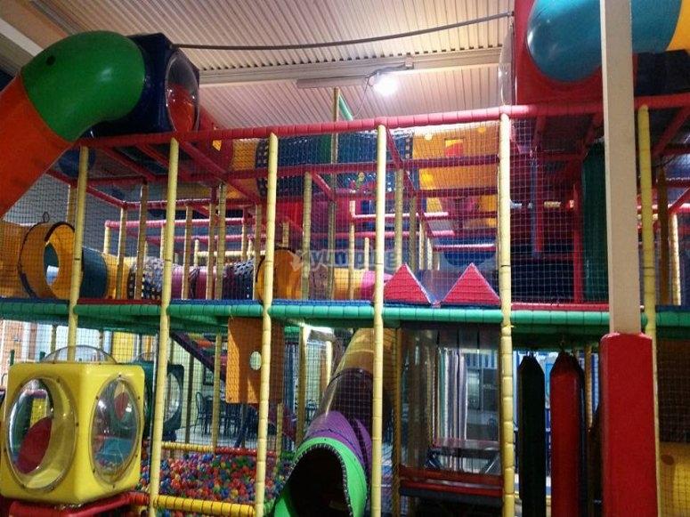Vistas de el parque infantil