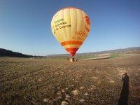 Excursion in a hot air balloon