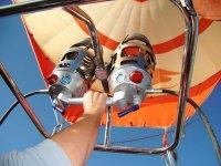 Hot air ballooning in Cuenca
