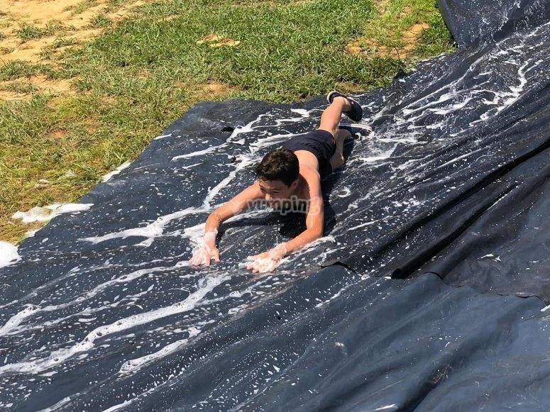 Divertidos juegos con agua
