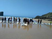 Surf and English camp in July at the Celorio