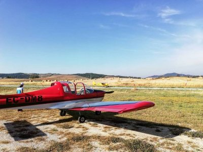 Ultralight plane baptism 1 hour in Medina Sidonia