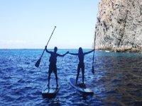 Travesía SUP con Delfines y tortugas Tenerife
