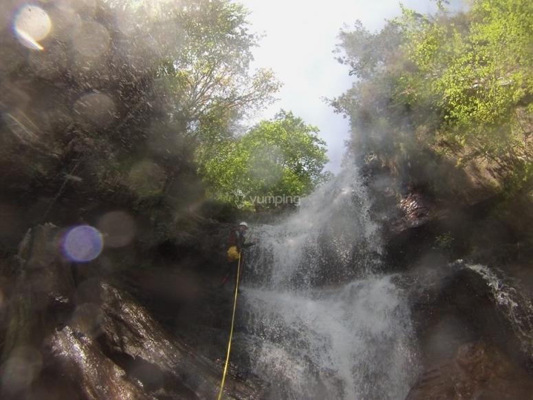 Descendiendo por cascadas
