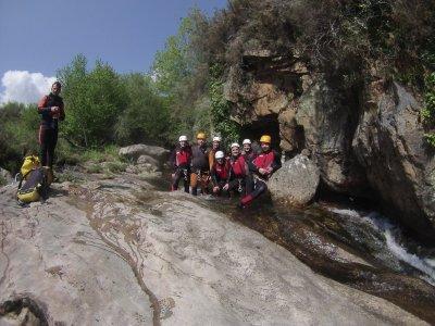 Canyoning per principianti nel fiume Sebrando 2h