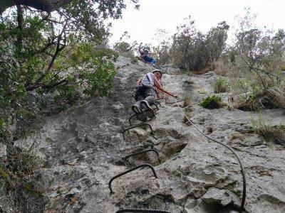 Vía Ferrata de la Hermida Picos de Europa Nivel K1