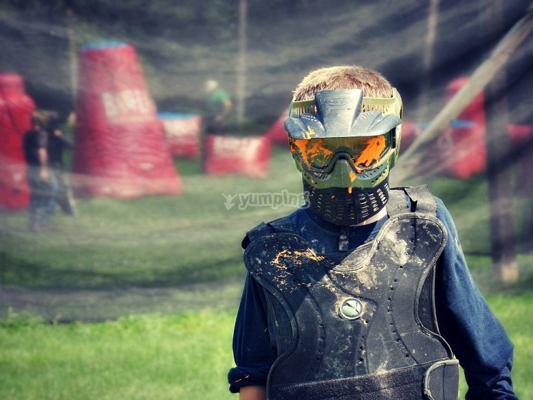 Soldado de paintball