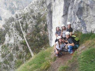 Vía Ferrata Picos de Europa dificultad K3 4 Horas