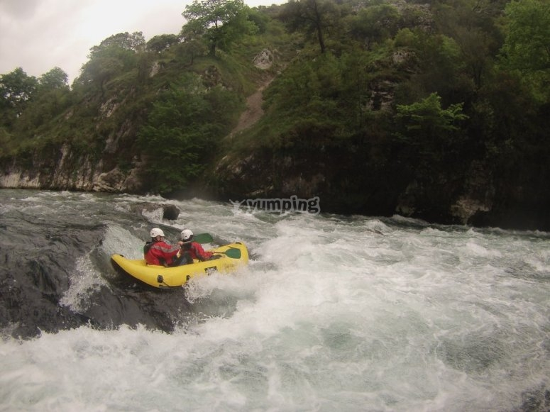 Rafting in Deva River