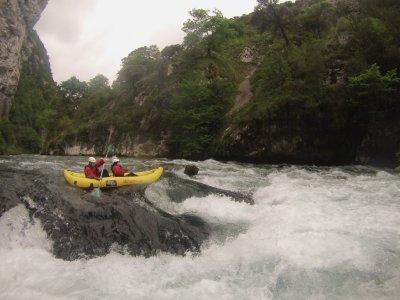 Rafting per bambini sul fiume Deva 2 ore
