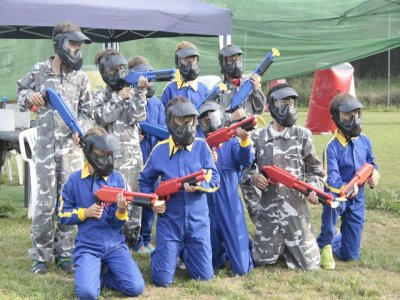 Paintball per BAMBINI in Pola de Siero 96 palle