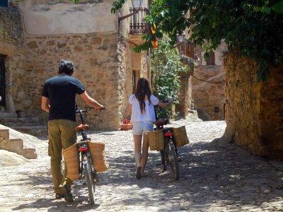 Burricleta por pueblos medievales de Girona
