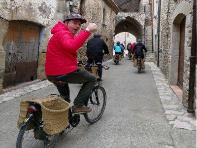 Tour medieval en burricleta Girona media jornada
