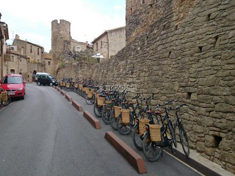 burricletas aparcadas