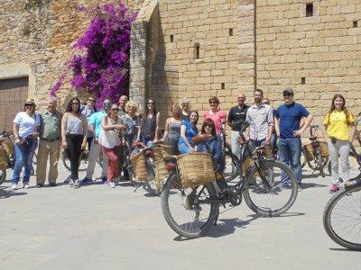 Itinerario burricleta Cristobal Colón e Pals 4H Gruppi