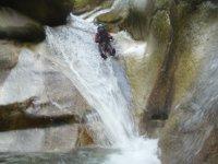 Tobogan en la roca