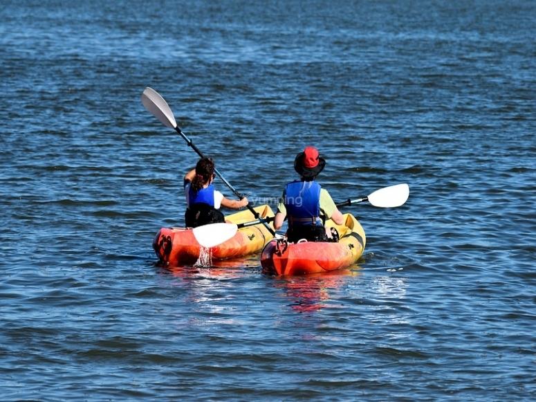 Kayak Granada romántico