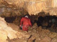 Espeleología entorno del río Cuervo nivel I Cuenca