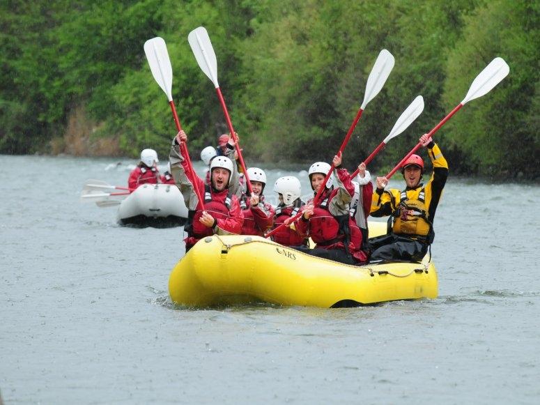 Rafting entre amigos