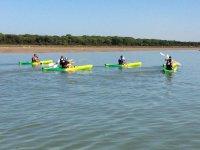 Ruta kayak Sanlúcar de Barrameda y Doñana 2 horas