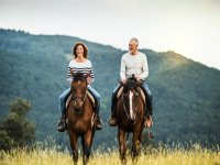 Horseback riding for couples