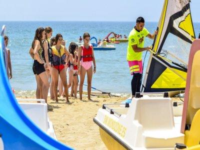 Campamento aventuras Isla Cristina 7 días 6 noches