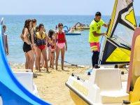 A punto de hacer windsurf