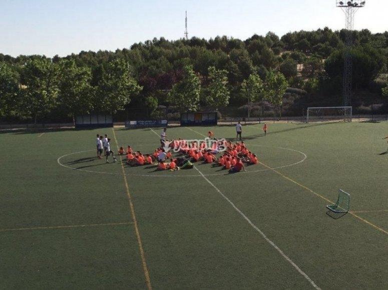足球校区的强化训练