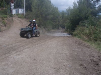 Quad route 4 hours in El Maresme 1-2 seats