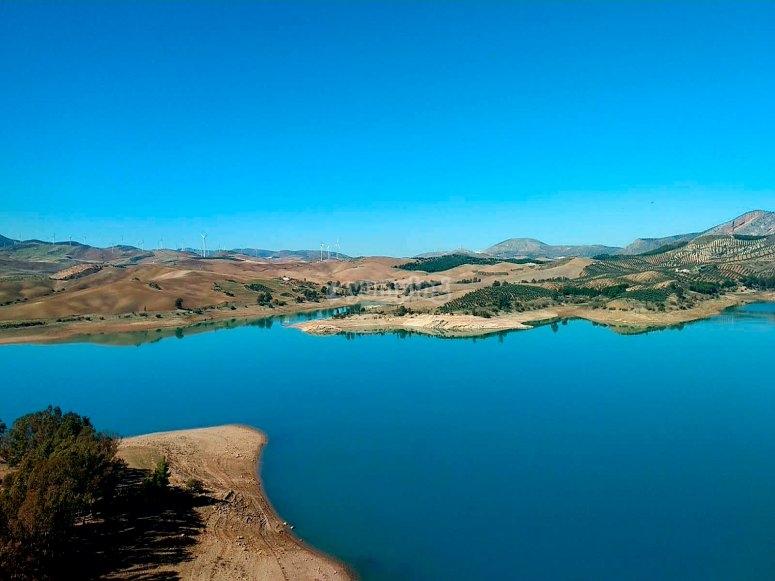Paisaje de Málaga naturaleza en estado puro