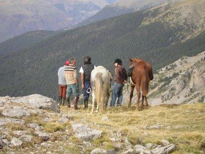 Excursión 1 hora a caballo en Barbastro